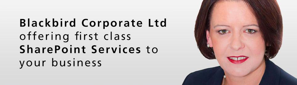 Blackbird Corporate Ltd SharePoint Training Specialist